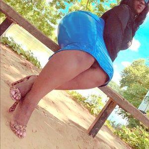Dresses & Skirts - Blueberry Boss B$%#h Skirt
